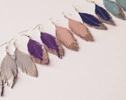 feather earrings for kids feather earrings etsy