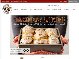 arthur flour thanksgiving sweepstakes