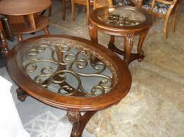 coffee table end table set gorgeous ashley furniture norcastle oval coffee table end table