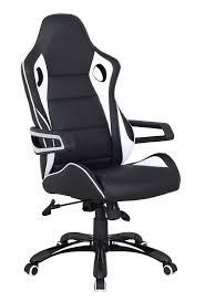 bureau et blanc trendy fauteuil de bureau ikea ergonomique simili cuir noir et blanc