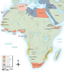 Africa Map 1914 by Gcaapeurohistory Licensed For Non Commercial Use Only Maps You