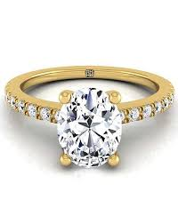 yellow gold engagement ring gold engagement rings