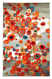 Modern Orange Rug Turquoise And Orange Area Rugs Roselawnlutheran Within
