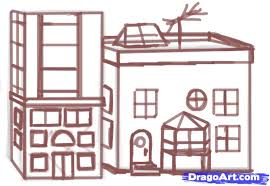 5 how to draw a building