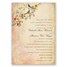 vintage invitations vintage birds invitation invitations by