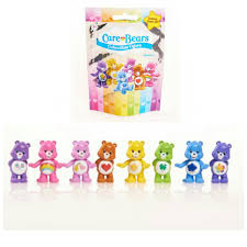lot 9 care bears blind bag packs collectible figures