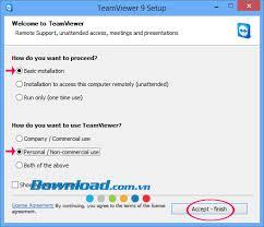 installer bureau à distance et utiliser teamviewer contrôle de bureau à distance