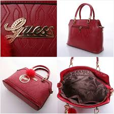 Tas Guess tas guess emboss 3in1 boston black semi premium sale 8221 grosir
