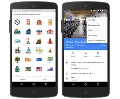 Google Maps For Android Google Maps For Android Will Now Let You Slap Stickers Onto Places