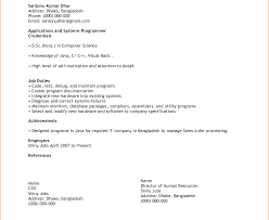 simple resume format free in ms word breathtakingt for simple resume wordpad template free in