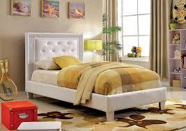 Purple Platform Bed by Lianne Cm7217wh T Twin Platform Bed