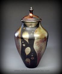 unique urns exles of unique raku urns raku by shekinah clay