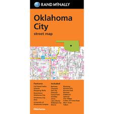 Home Decor Stores In Oklahoma City by Rand Mcnally Folded Map Streets Of Oklahoma City