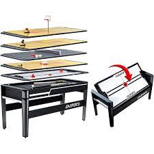 amazon com ea sports 6 in 1 multiple arcade game swivel table