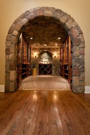 Custom Basement Doors - custom wine cellar doors contemporary wine cellar new york