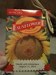 sunflower seed wedding favors 27 best sunflower seed gifts images on sunflower seeds