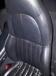 is this a good way to fix my leather seat corvetteforum