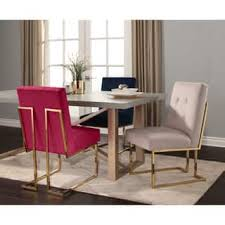 Velvet Dining Room Chairs Velvet Kitchen Dining Room Chairs For Less Overstock