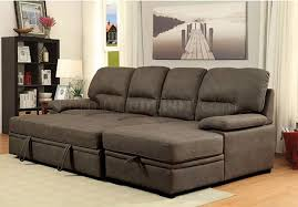 Chelsea Sectional Sofa Sectional Sofa Cm6908br In Brown Faux Nubuck Fabric