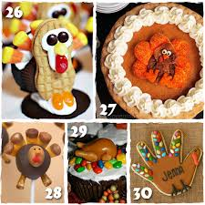 30 easy thanksgiving treats