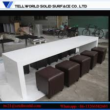 White Corian Fast Food Counter White Corian Table Tops Fast Food Restaurant