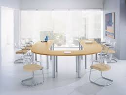 Circular Office Desk Circular Table For 4 To 6 People Multi Range Meeting Tables