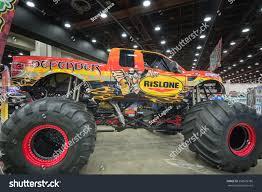 monster truck jam detroit detroit miusa march 6 2015 defender stock photo 258605786