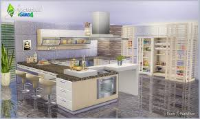 sims kitchen ideas my sims 4 kitchen set by simcredible designs s4 cuisine