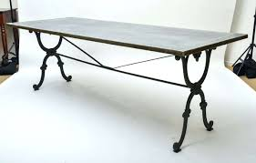 wrought iron table base for granite interior wrought iron table base