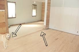 hardwood floor in the vestibule