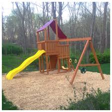 ground cover second glance swing sets