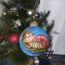 shop painted glass ornaments on wanelo