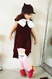 dress for baby high and low dress bow dress thanksgiving