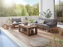 Teak Esszimmer Bank Sofa 3sitzer Massiv Teak Holz Möbel Couch Sitzmöbel Sitzbank Neu
