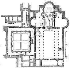 Floor Plan Of A Church by Romanesque Gothic U0026 Baroque Architecture I Love My Architect