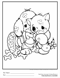 sweet ideas puppy and kitty coloring pages 6 puppy kitten coloring
