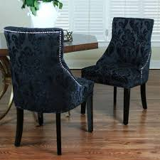 damask chair black fan damask chair 2 pack