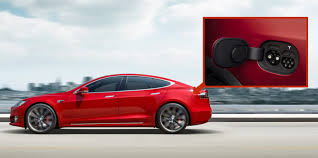 tesla unveils new dual connector charge port design for model s