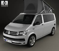 volkswagen california volkswagen transporter t6 california 2016 3d model hum3d