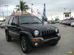 black jeep liberty 2004 black clearcoat jeep liberty sport 4x4 columbia edition