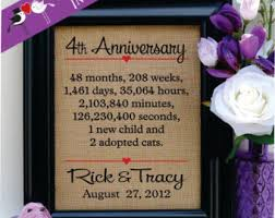 4th anniversary gift ideas awesome 4th wedding anniversary gifts for him b18 on images