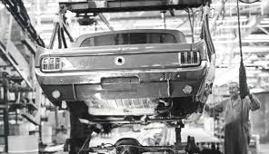 mustang parts san jose san jose assembly plant 1964 mustangs on the move