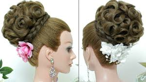 bridal hairstyles bridal hairstyle updo for hair tutorial