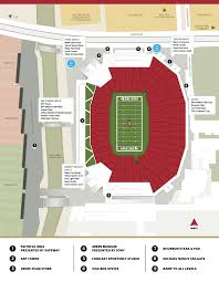 Chicago Parking Zone Map by U2 The Joshua Tree Tour Levi U0027s Stadium