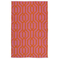 Pink 8x10 Rug 8 X 10 Pink Outdoor Rugs Rugs The Home Depot