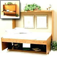 Fold Out Desk Diy Diy Murphy Desk Diaz2009