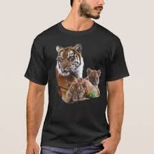 tiger family t shirts shirt designs zazzle