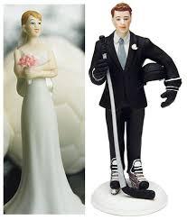 hockey cake toppers hockey cake toppers weddings the wedding specialiststhe wedding