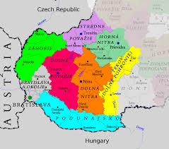 Slovakia Map Western Slovakia U2013 Travel Guide At Wikivoyage