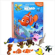 disney pixar finding nemo busy book story 12 figures